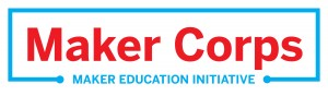 Maker Corps logo calibrated red 12.20.12