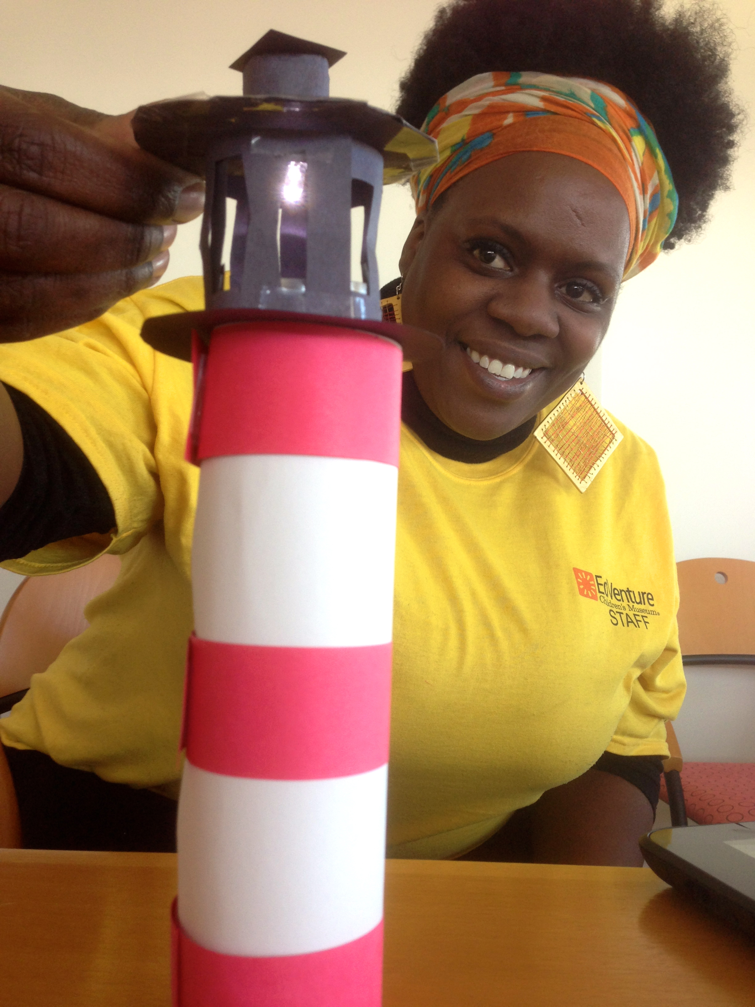 how to make a lighthouse out of paper