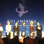 Maker Ed's Lisa Regalla prepares to present at CGI America