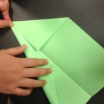 Monticello paper airplane