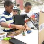 Maker Corps 2016 at The Bubbler at Madison Public Library