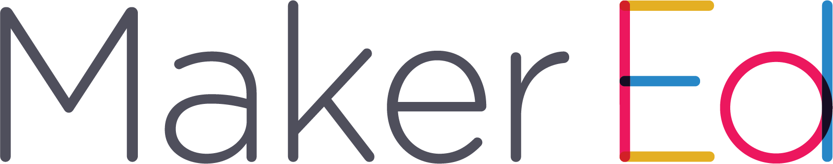 Maker Ed Logo - Horizontal