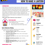 Learning in the Making: Autumn Festival Lanterns