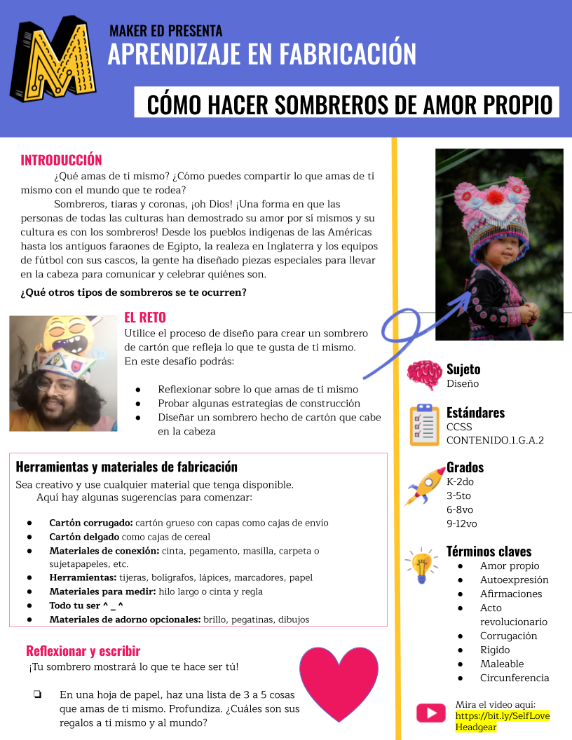 Thumbnail image of self-love headgear project guide (Spanish version)